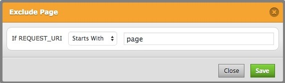 exclude-page-startwith